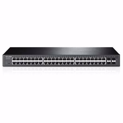Fotografija izdelka TP-LINK JetStream T1600G-52TS 48-port gigabit rack mrežno stikalo-switch