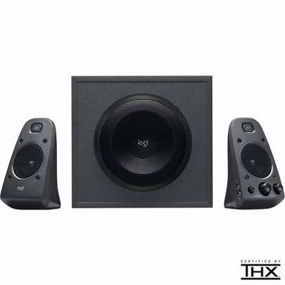 Fotografija izdelka LOGITECH Z625 THX 2.1 200W RMS črni zvočniki