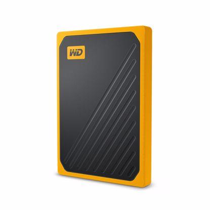 Fotografija izdelka WD 500GB SSD My Passport Go, USB 3.0, rumen