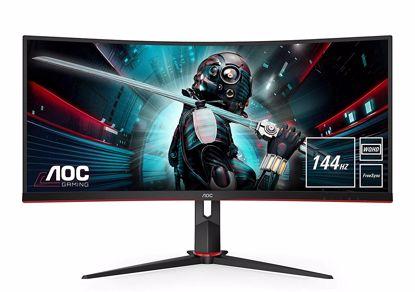 Fotografija izdelka AOC CU34G2X 34''  Ultra Wide ukrivljen gaming monitor