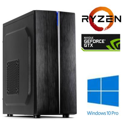 Fotografija izdelka @Gamer Ryzen5 2600X / 8GB / SSD 250GB NVMe / HDD 1TB / GTX 1650-4GB / W10