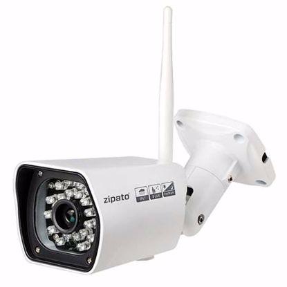 Fotografija izdelka ZIPATO NCM750GB dnevna/nočna HD 720p zunanja nadzorna kamera