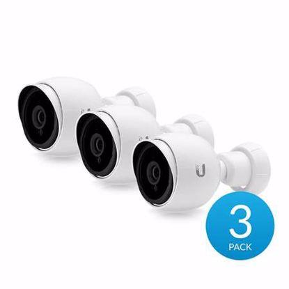 Fotografija izdelka UBIQUITI UniFi G3 Bullet 1080p dnevna/nočna notranja/zunanja AF adapter IP 3-pack nadzorna kamera
