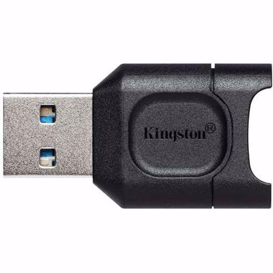 Fotografija izdelka KINGSTON MobileLite Plus microSD UHS-II USB3.2 gen1 čitalec