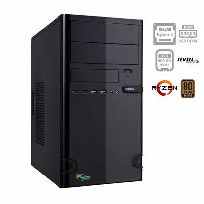 Fotografija izdelka PCPLUS i-net Ryzen 3 PRO 4350G 8GB 500GB NVMe SSD DOS