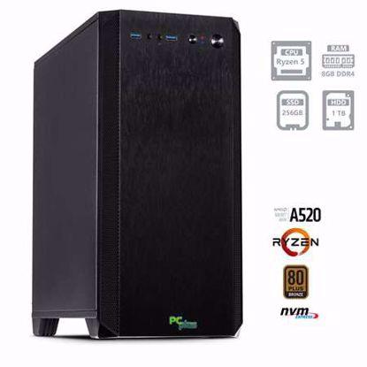Fotografija izdelka PCPLUS MAGIC AMD Ryzen 5 4650G 8GB 256GB NVMe SSD 1TB HDD W10