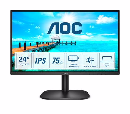 Fotografija izdelka AOC 24B2XDA 23,8'' IPS 75Hz monitor