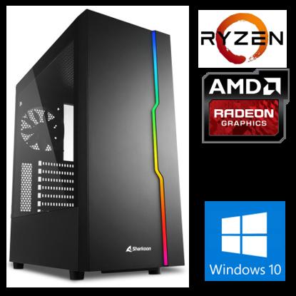 Fotografija izdelka @Gamer Ryzen7 3700X / 16GB / SSD 500GB  NVMe / HDD 3TB / RX5500XT-8GB / W10PRO