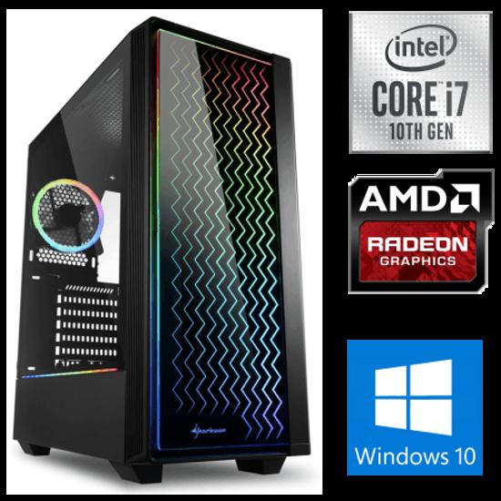 Fotografija izdelka iGamer Core i7-10700F / 16GB / SSD 500GB NVMe / HDD 3TB / AMD RX5500XT 8GB / W10PRO