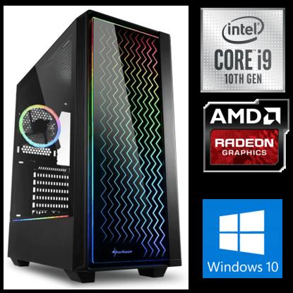 Fotografija izdelka iGamer Core i9-10900F / 32GB / SSD 1TB NVMe / HDD 3TB / AMD RX5500XT 8GB / W10PRO