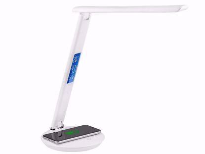 Fotografija izdelka Namizna LED svetilka TRACER Luxia LCD (Brezžični polnilec)