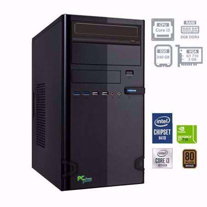 Fotografija izdelka PCPLUS Storm i3-10100F 8GB 240GB SSD GT 710 2GB W10PRO