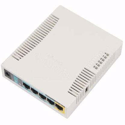 Fotografija izdelka MIKROTIK RB951Ui-2HnD PoE 5-port brezžična dostopna točka