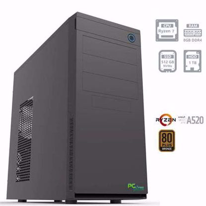 Fotografija izdelka PCPLUS E-MACHINE R7-4750G 8GB 512GB 1TB W10