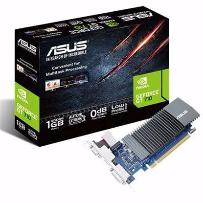 Fotografija izdelka ASUS GeForce GT710 1GB DDR5 silent (GT710-SL-1GD5-BRK) grafična kartica