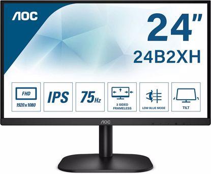 Fotografija izdelka AOC 24B2XH 23,8'' IPS 75Hz monitor