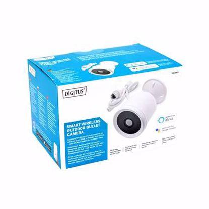 Fotografija izdelka IP Kamera-Digitus 2.0MP DN-18601 SOHO brezžična zunanja MikroSD Avdio