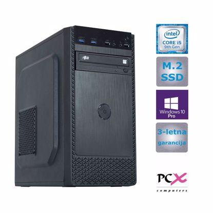 Fotografija izdelka PCX EXAM WORX2.1 (i5-9400/8GB/M.2 250GB/HD630/W10 PRO
