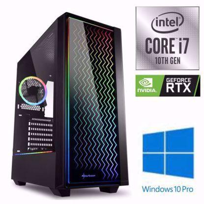 Fotografija izdelka iGamer Core i7-10700F / 16GB / SSD 500GB NVMe / HDD 3TB / RTX 3070Ti 8GB / W10PRO