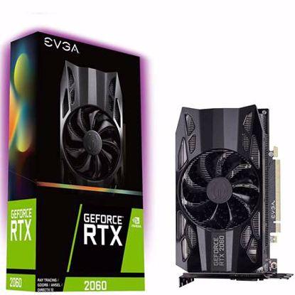 Fotografija izdelka EVGA GeForce RTX 2060 6GB GDDR6 SC OC (06G-P4-2060-KR) gaming grafična kartica