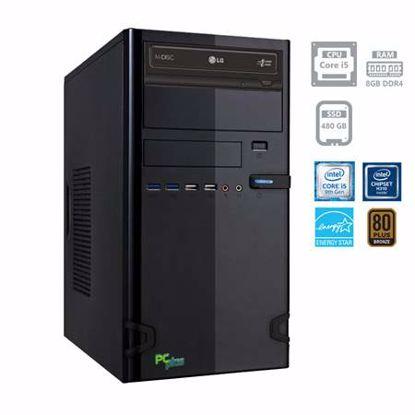 Fotografija izdelka PCPLUS e-office Intel Core i5-9400 8GB 480GB SATA3 SSD DOS