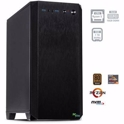 Fotografija izdelka PCPLUS Magic AMD Ryzen 5 5600G 16GB 1TB NVMe SSD DOS