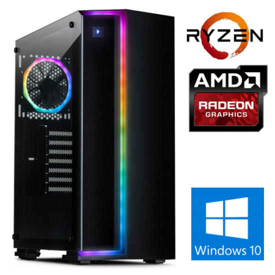 Fotografija izdelka @Gamer Ryzen9 5900X / 32GB / SSD 1TB  NVMe / HDD 3TB / AMD RX6700XT-12GB OC / W10PRO