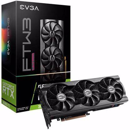 Fotografija izdelka EVGA GeForce RTX 3060 Ti FTW3 ULTRA Gaming 8GB GDDR6 (08G-P5-3667-KL) iCX3 LHR ARGB gaming grafična kartica08G-P5-3667-KL
